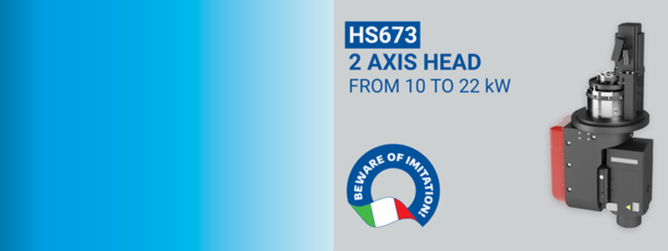 Compact & Modular 2 Axis Head: Discover the HS673